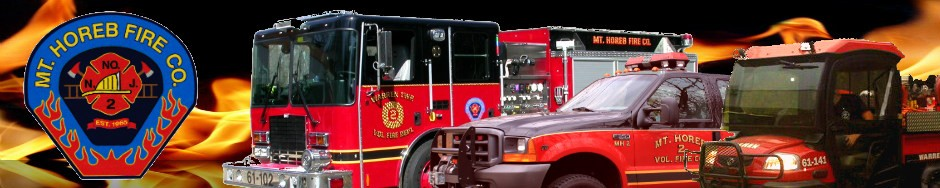 Mt. Horeb Volunteer Fire Company #2, Warren NJ.